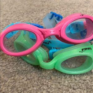 62be62697570 Finis Swim - TWO Finis Fruit Basket Kids Swim Goggles